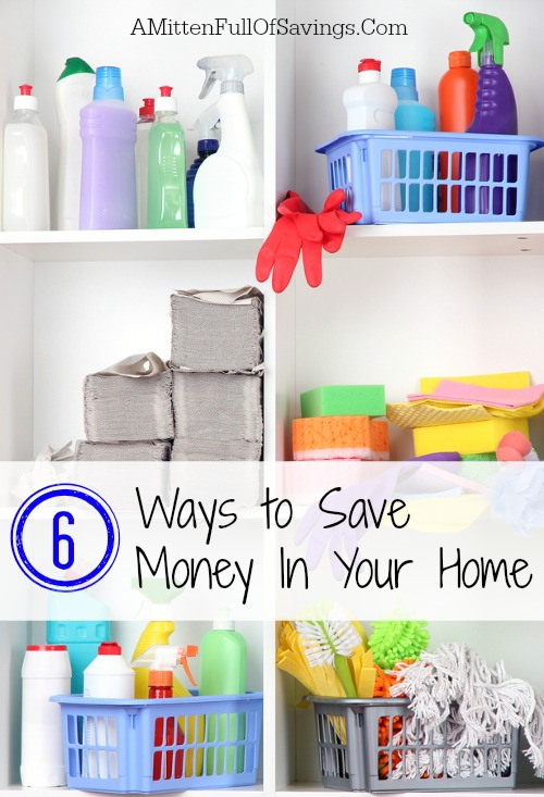 6 easy ways to save money in your home a mitten full of for Ways to save for a house