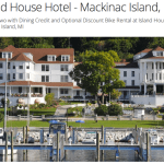 Michigan Hotel Deal- Stay on Mackinac Island for $135 per Night