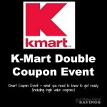 Kmart Double Coupon Event Starts 11/1- Here's What You Need To Know Before Shopping