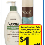 Meijer: Aveeno Baby Products as low as FREE/MONEYMAKER