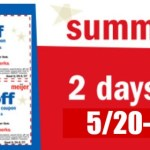 Meijer Summer Bucks This Weekend 5/20-5/21