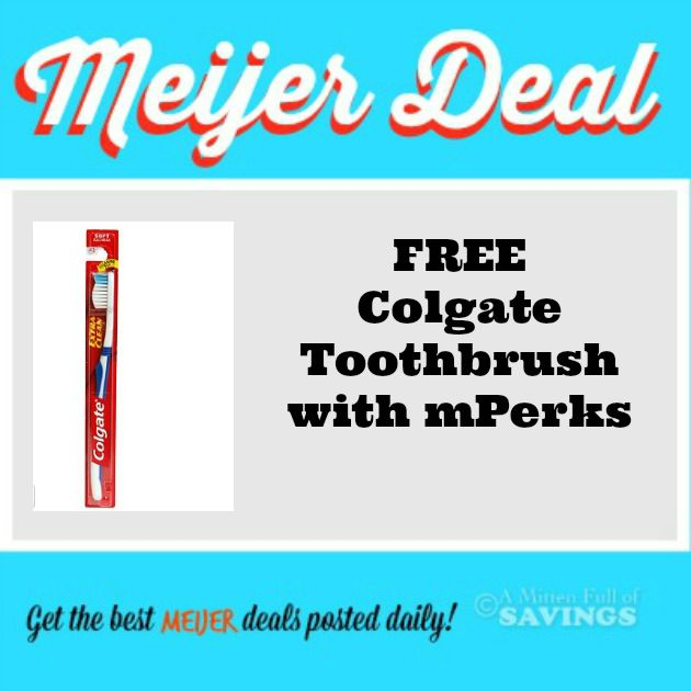 Meijer freebies