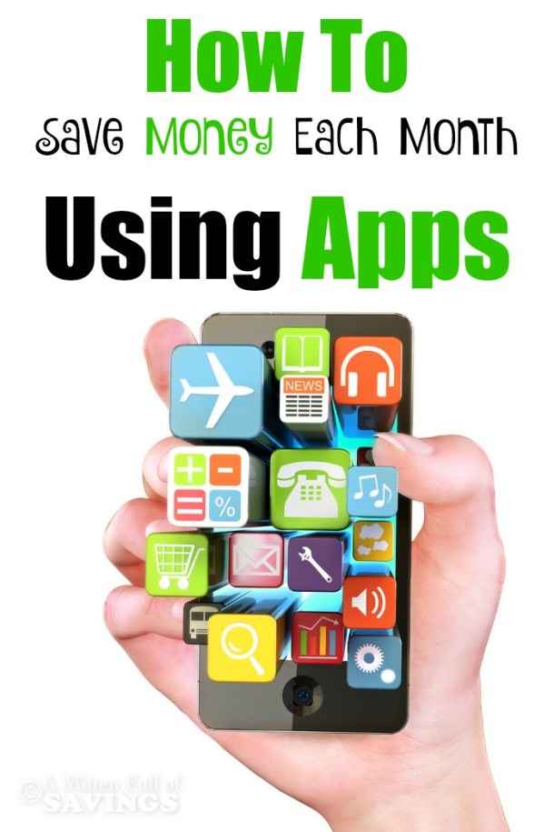 Check out these amazing frugal budget tips on how to save money each month using apps!