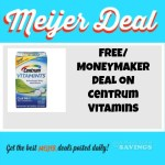 Meijer:Hot Deal on Centrum Vitamins– As low as FREE