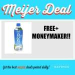Meijer: FREE/moneymaker on Zico Coconut Water
