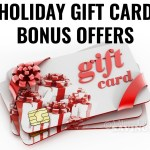2016 Holiday Gift Card Bonus Offers for Restaurants & Retailers