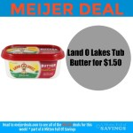 Meijer: Land O Lakes Spreadable Butter $1.50