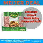 Meijer: Jennie-O Ground Turkey for .03 cents and up {NEW RARE COUPON}