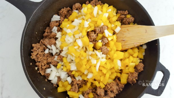 This Ground Turkey Sweet Potato Skillet is a great hearty meal that your family is going to devour in minutes! If you are looking for easy meals under 30 minutes, this one is going to be a favorite. Not only is it full of flavor, but it is super affordable for those in need of satisfying frugal meals.