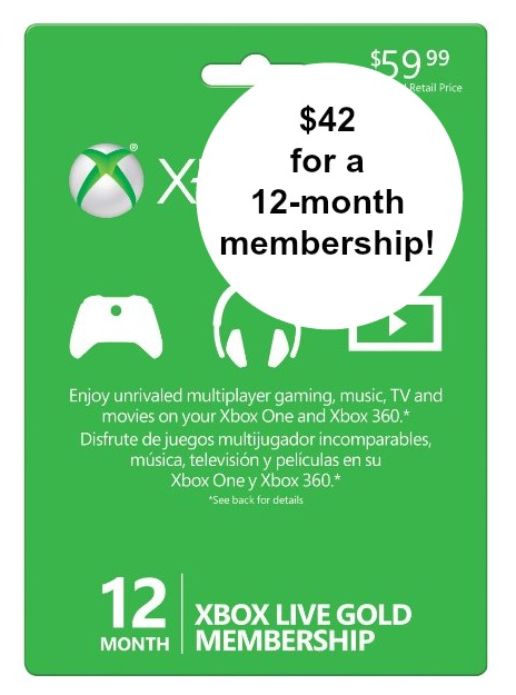 deals on xbox membership