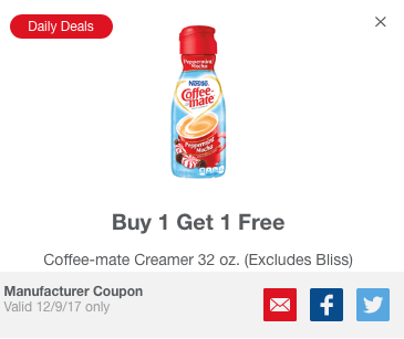Meijer Daily Deal mPerk