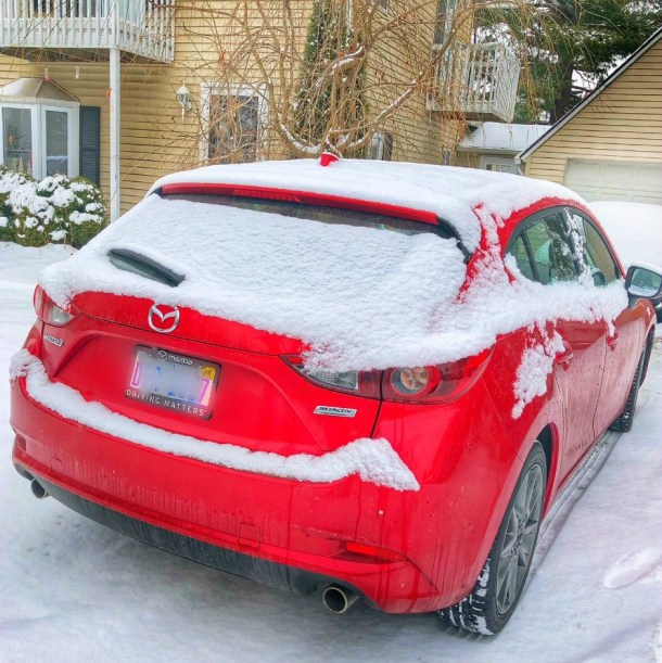 Winter Experience in the Mazda CX-3
