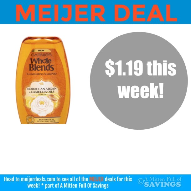 deal on Garnier Whole Blends