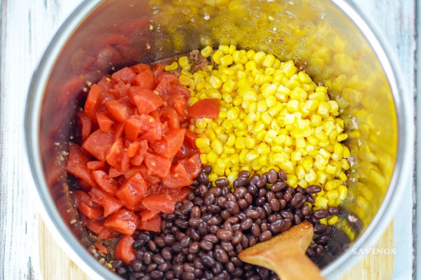 ingredients needed for instant pot taco soup