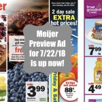 Meijer Preview 7/22/2018