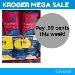Carefree Liners .74- .99 cents at Kroger MEGA sale