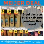 Meijer: Suave Men, Kids, Women Hair Product Deals