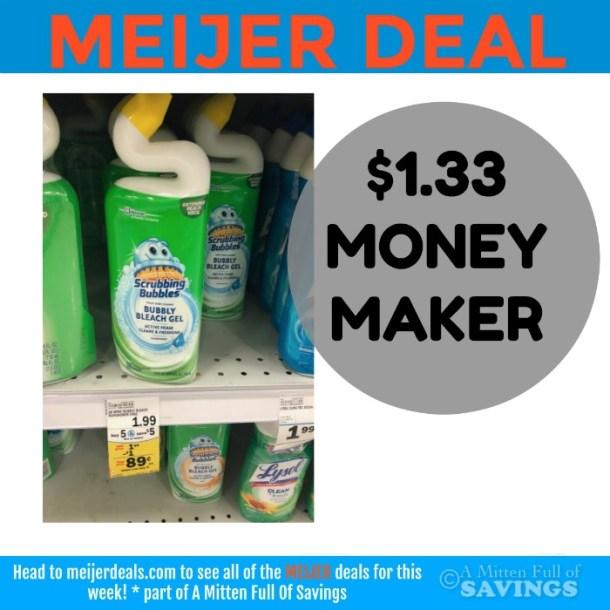 Meijer: Scrubbing Bubbles $1.33 MONEYMAKER
