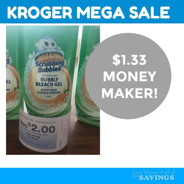 Scrubbing Bubbles MONEYMAKER at Kroger