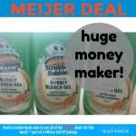 Meijer: MONEYMAKER + CHEAP deals on Scrubbing Bubbles Products