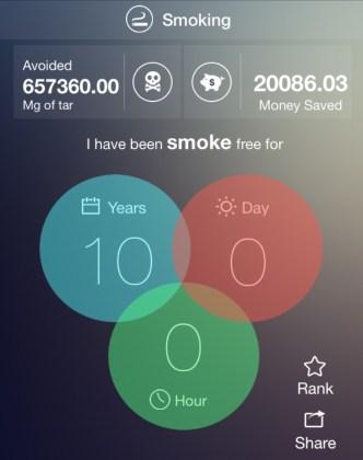 Zehn Jahre Rauchfrei