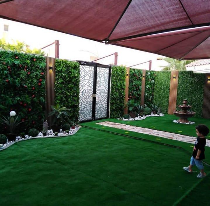 تنسيق حدائق المدينه