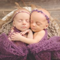 Twin Wrap and Tie Back Headbands Pattern by AMKCrochet.com - Newborn Photo Prop Pattern