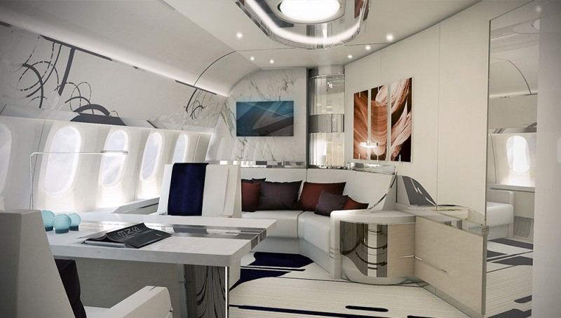 A Look Inside A Custom Boeing 787 9 Dreamliner Private Jet