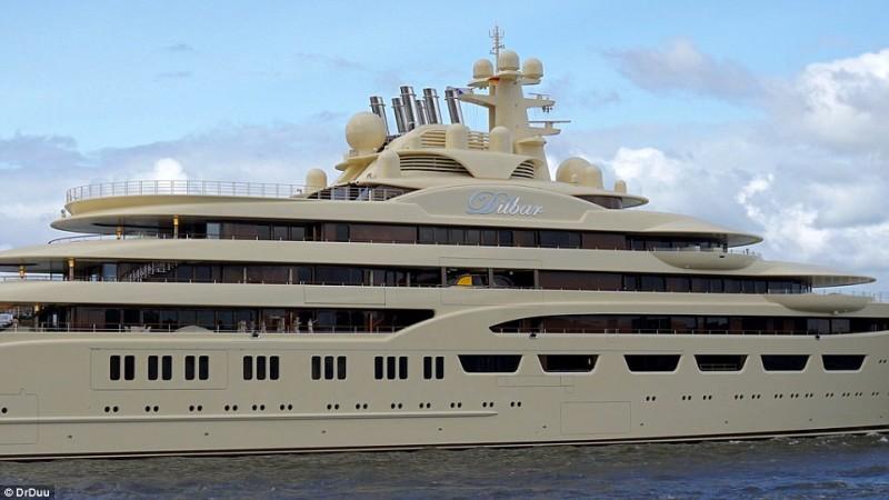Lrssens Dilbar The Worlds New Largest Superyacht Has