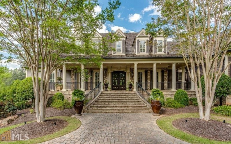 Comedian Ron White S Stately Georgia Mansion Could Be