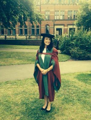 Amie's PhD ceremony