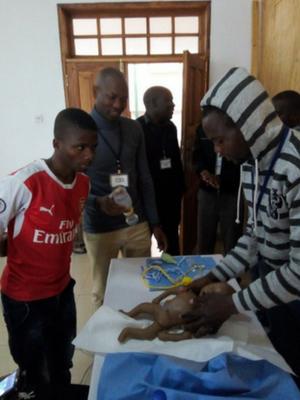 Yolam teaching Neonatal Resuscitation