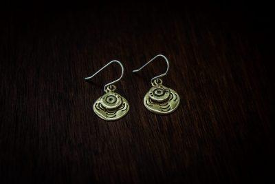 AEB4 - bullet earrings