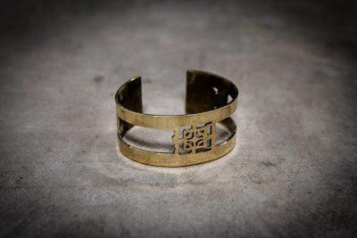 TB2 - Brass Bayon bangle