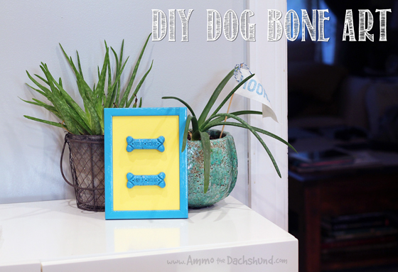 Birthday Week: DIY Dog Bone Art