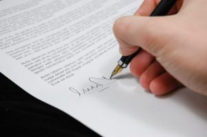 Affiliate management expert contract