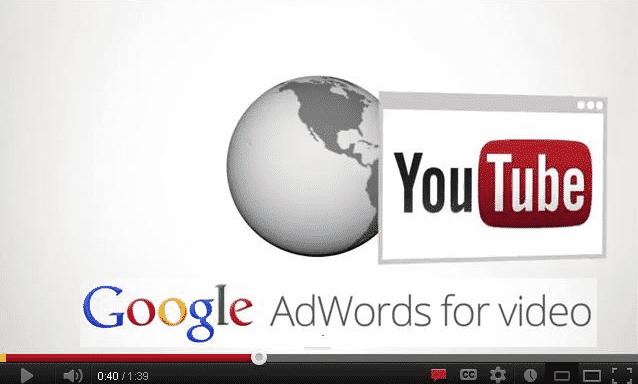 الإشهار المدفوع لفيديوهات يوتيوب