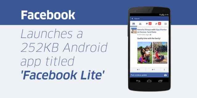 سيو: نسخة المحمول للإنترنت الضعيف على طريقة Facebook Lite