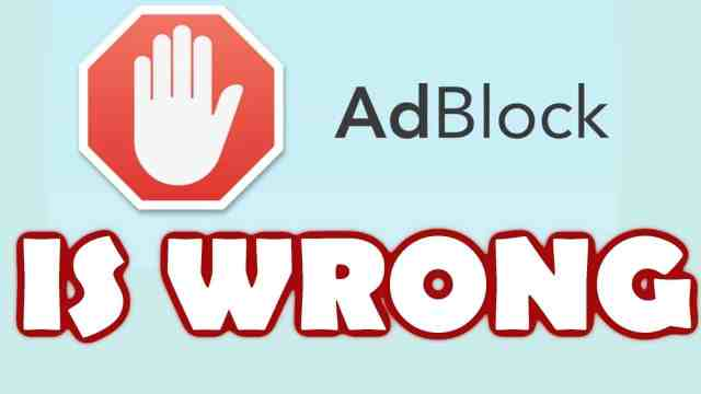 Adblock ضحكة تقنية: معلن ينصح باستخدام Adblock