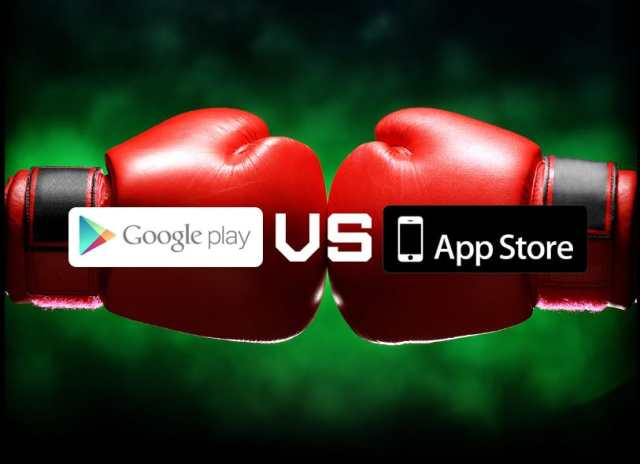 googleplay-vs-appstore مقارنة بين جوجل بلاي و App Store: من الأكثر ربحية للمطورين؟