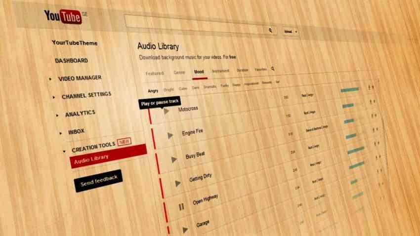 Download-Free-Music-from-YouTubes-Audio-Library للفلوجر: موسيقى مجانية للتحميل واستخدامها في فيديوهات يوتيوب