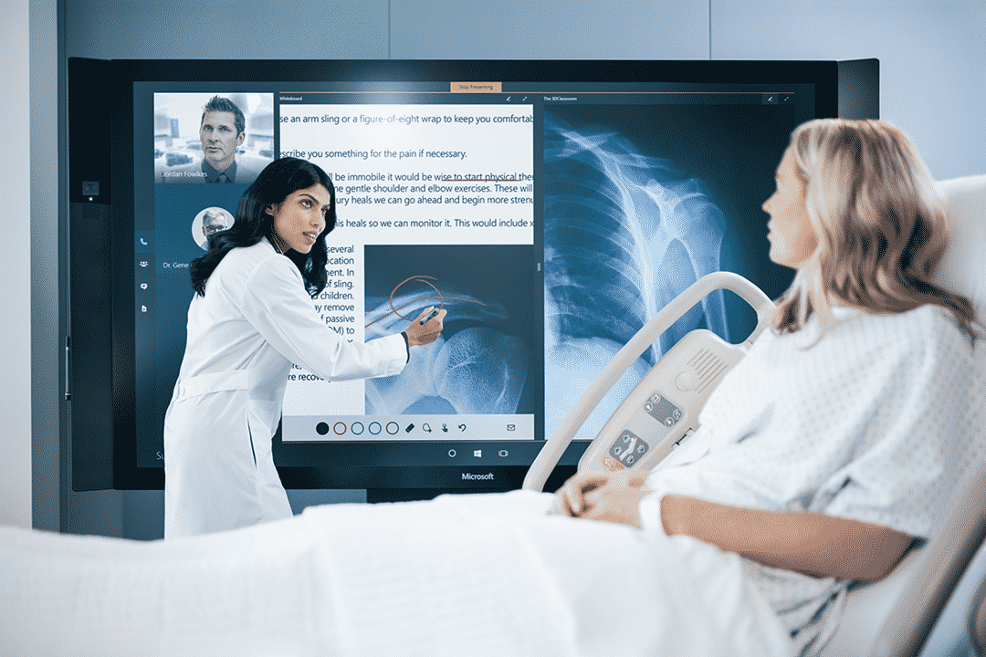 Surface-Hub كيف سيفيد حاسوب Surface Hub الشركات والأفراد؟