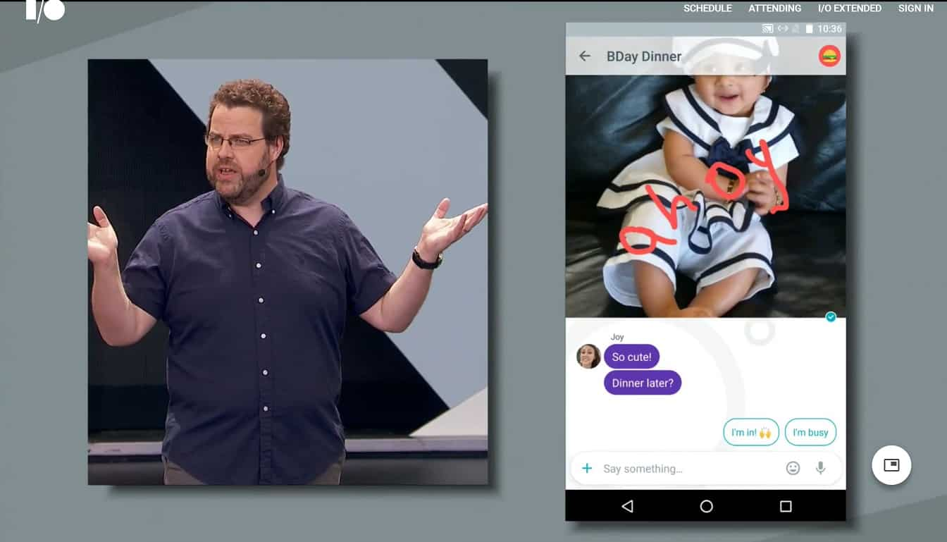 google-allo-1 ألو Hangouts ماسنجر Duo: فشل ذريع دفع جوجل للمنافسة بها كلها