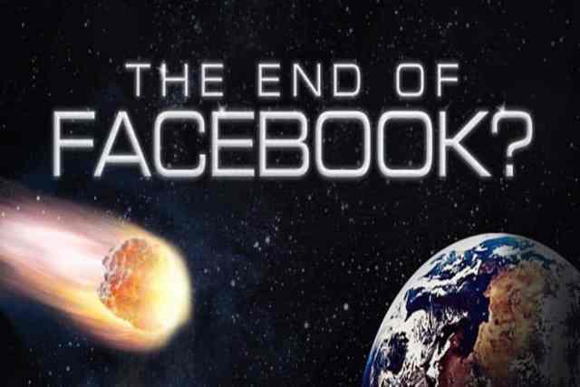 TheEndofFacebook بوادر أزمة فيس بوك ... كابوس مارك زوكربيرغ