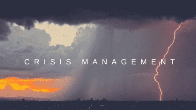 CRISIS-MANAGEMENT 5 أدبيات بسيطة لإدارة الأزمات في الشركات الناشئة