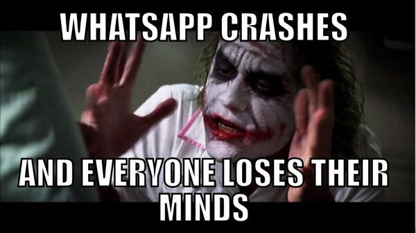 whatsapp ضحكة تقنية: لا يجب أن تغضب من انقطاع واتساب إلا في حالة واحدة