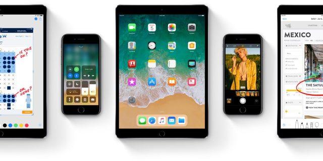 iOS-11 أفضل مميزات نظام iOS 11 والتغيير الكبير لأجهزة آيفون و آيباد