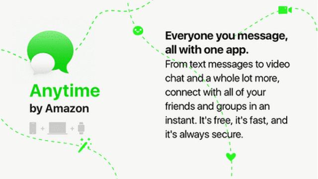 amazon-anytime-chat-app 10 مزايا في خدمة الدردشة القادمة أمازون Amazon Anytime