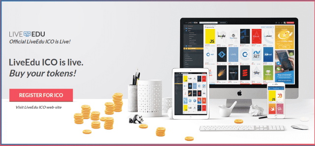 LiveEdu فرصة استثمار: ابتداء من 0.10 دولار استثمر في موقع LiveEdu يوتيوب التعليمي المتطور