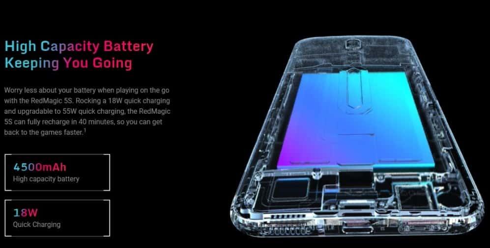 Red-Magic-5S-3 التحفة Red Magic 5S: أفضل هاتف ألعاب لعشاق ببجي وفورت نايت وفري فاير